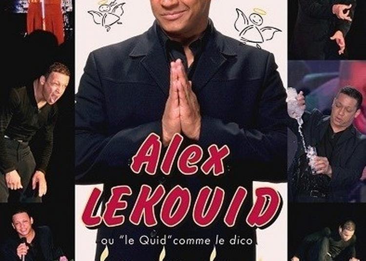 Alex Lekouid Dans Le Predicateur De L'humour à Toulouse