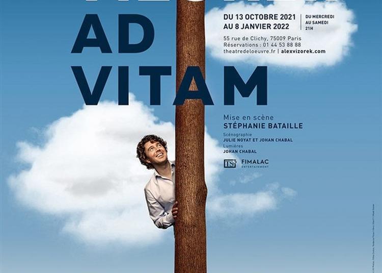 Alex Vizorek Dans Ad Vitam à Paris 9ème