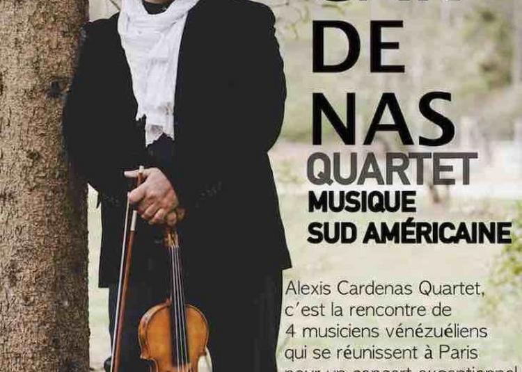 Alexis Cardenas Quartet à Paris 15ème
