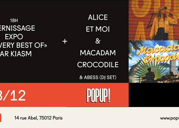 Alice Et Moi X Macadam Crocodile + Expo Kiasm