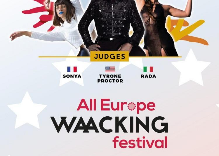 All Europe Waacking Festival à Paris 20ème