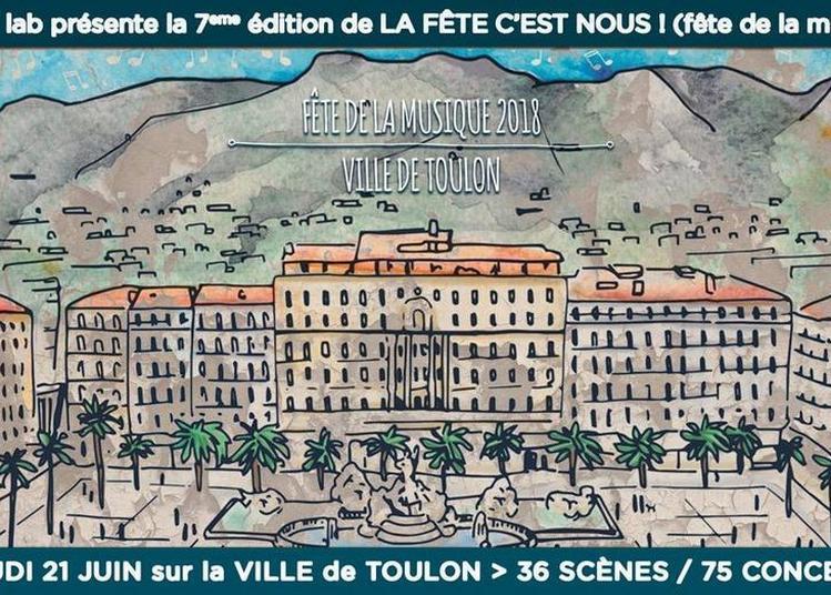 Alligator's Jazz Band (Fête de la musique 2018) à Toulon