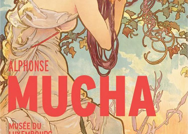Alphonse Mucha / Entrée Simple à Paris 6ème