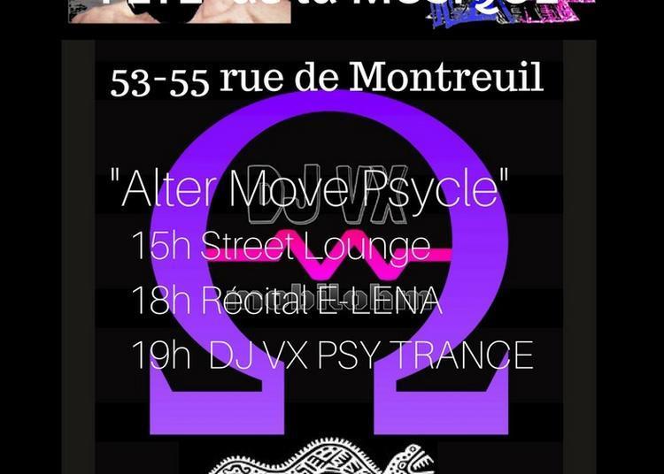 Alter Move Dj Psycling à Paris 11ème