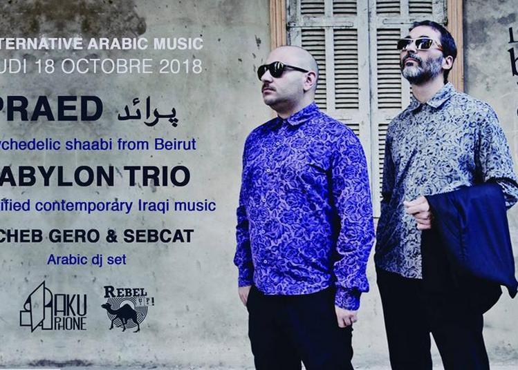 Alternative Arabic Music: Praed + Babylon Trio à Paris 20ème