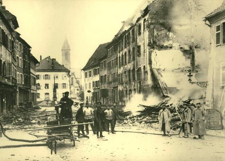 Altkirch Et Le Sundgau En 1918 - Un Bilan Effroyable Et Un Retour à La Vie Quotidienne Difficile