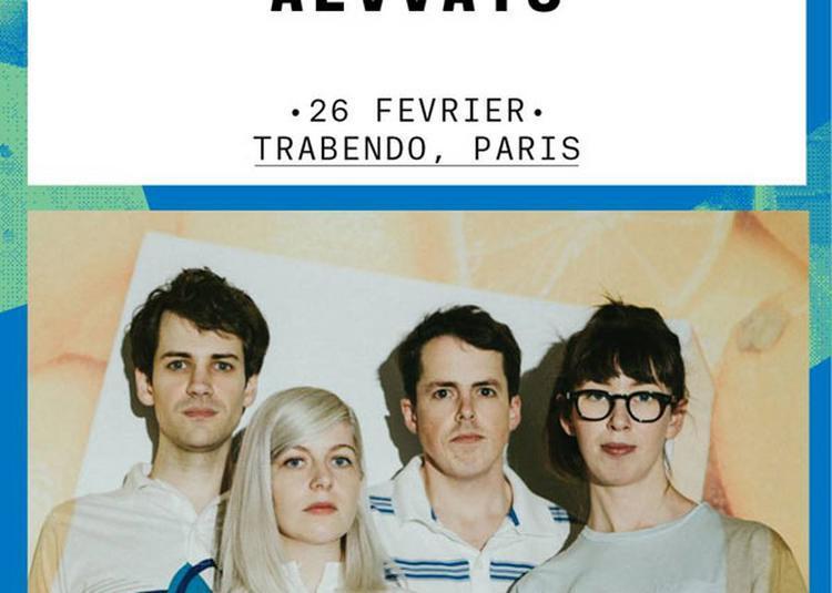 Alvvays à Paris 19ème