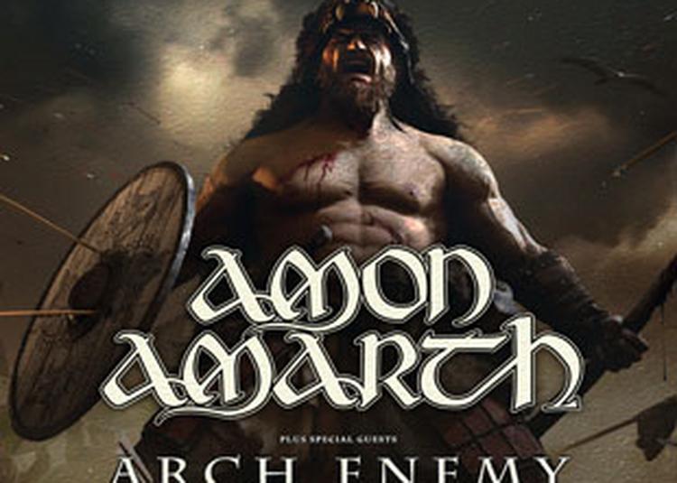 Amon Amarth à Paris 19ème