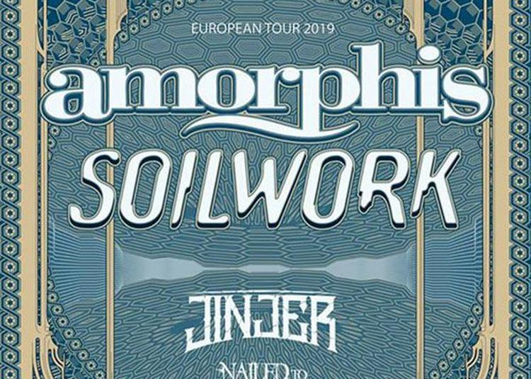Amorphis + Soilwork à Ramonville saint Agne