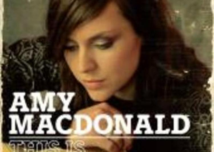 Amy Macdonald à Paris 18ème