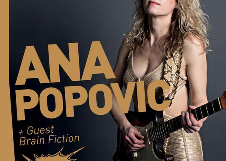 Ana Popovic à Compiegne