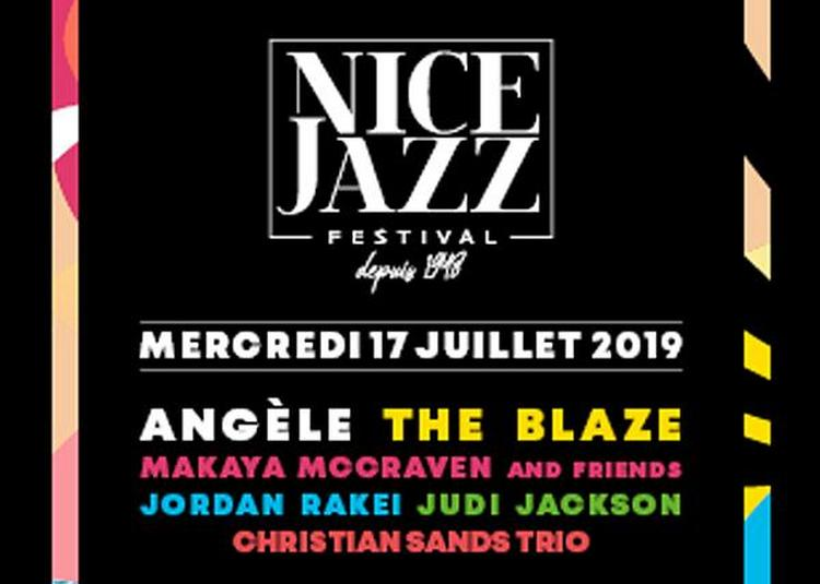 Angele/ The Blaze/ Makaya Mccraven à Nice