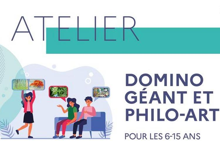 Animation Jeune Public : Domino Artistique Géant Puis Discussion Philo-art à Toulouse