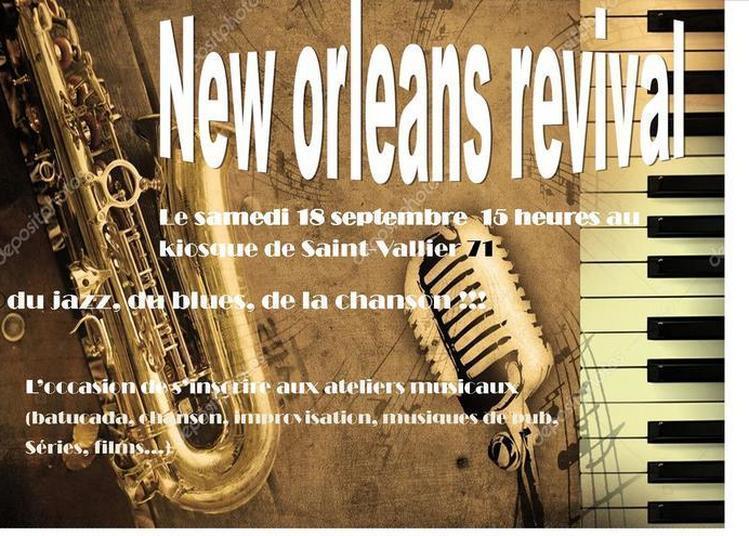 Animation Musicale Répertoire New Orleans à Saint Vallier