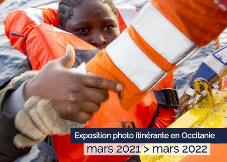 Animation Pour Scolaires / Levez Les Yeux ! Exposition Sos En Méditerranée : Un Engagement Citoyen à Perpignan