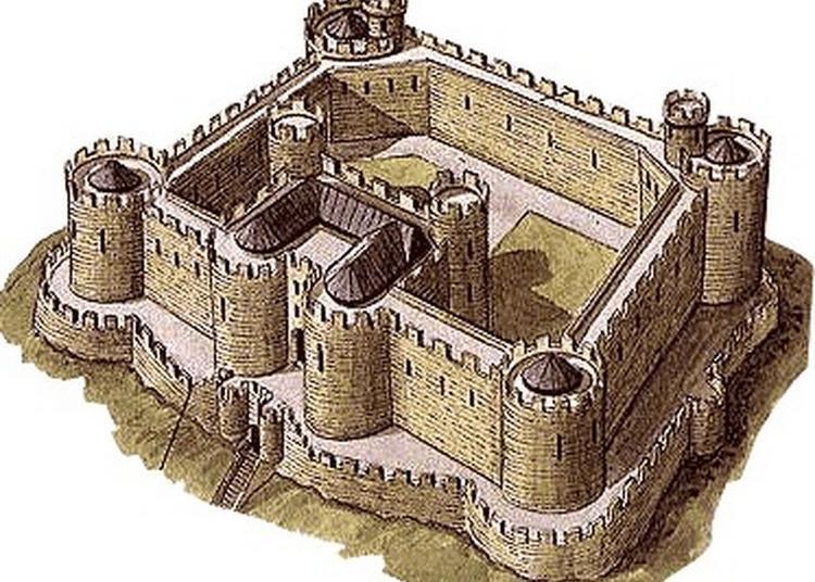 Animations Autour D'une Grande Maquette De Château Fort à Marmoutier