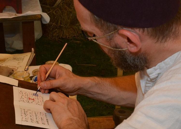 Animations Manuscrits Et Parchemins Et Dur Comme Le Roc à Verdun