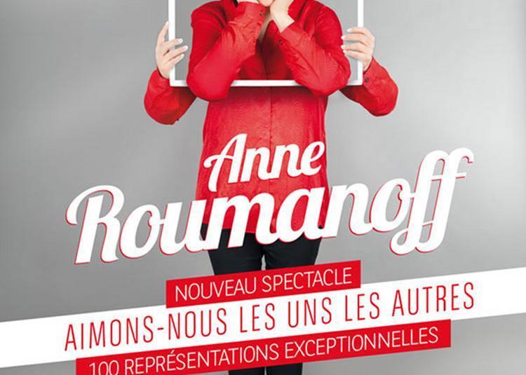 Anne Roumanoff à Woustviller