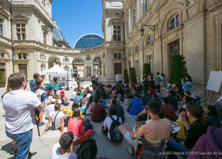 Annee De La Bd : Ateliers Jeunesse Menés Par Des Dessinateurs Et Dessinatrices à Lyon