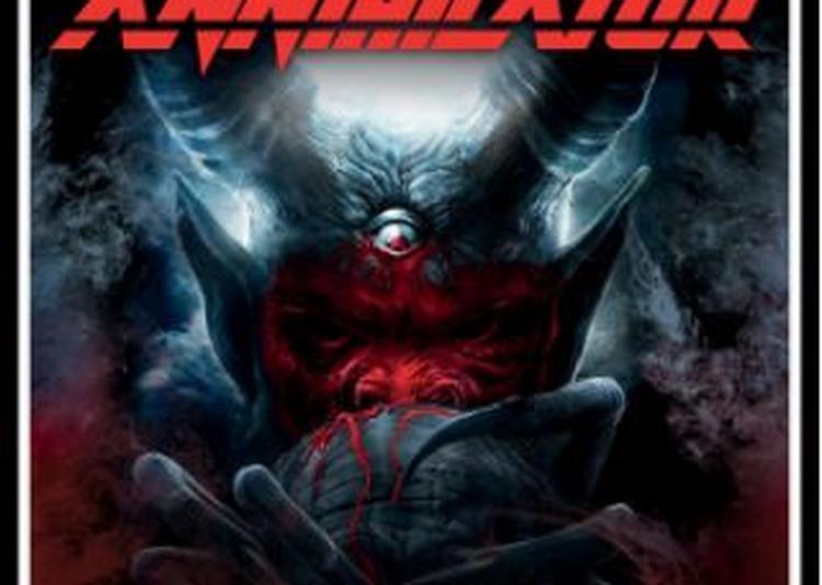 Annihilator - A Tour For The Demented 2018 à Paris 13ème