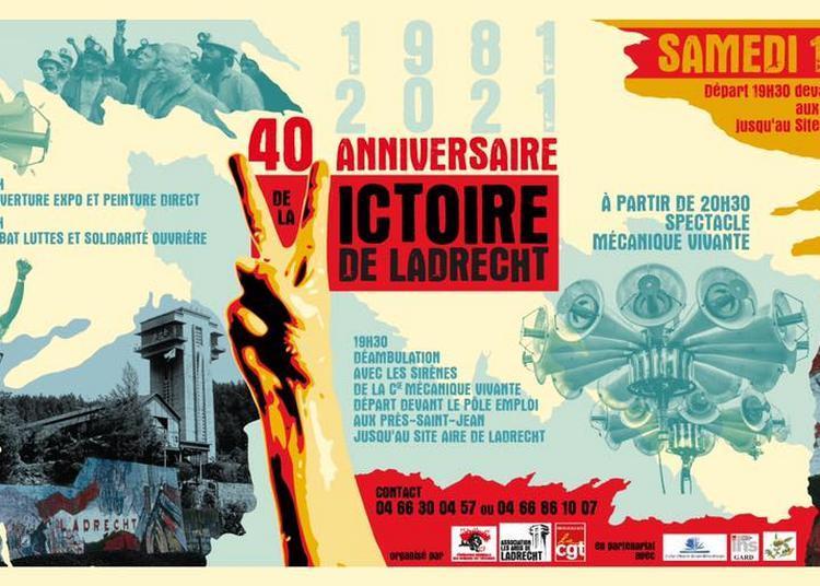 40° anniversaire Victoire de Ladrecht à Saint Martin de Valgalgues