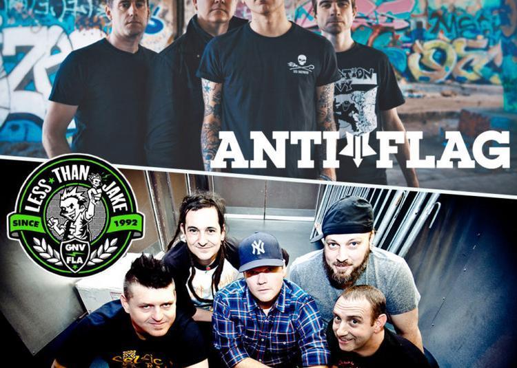 Anti-flag Et Less Than Jake à Villeurbanne