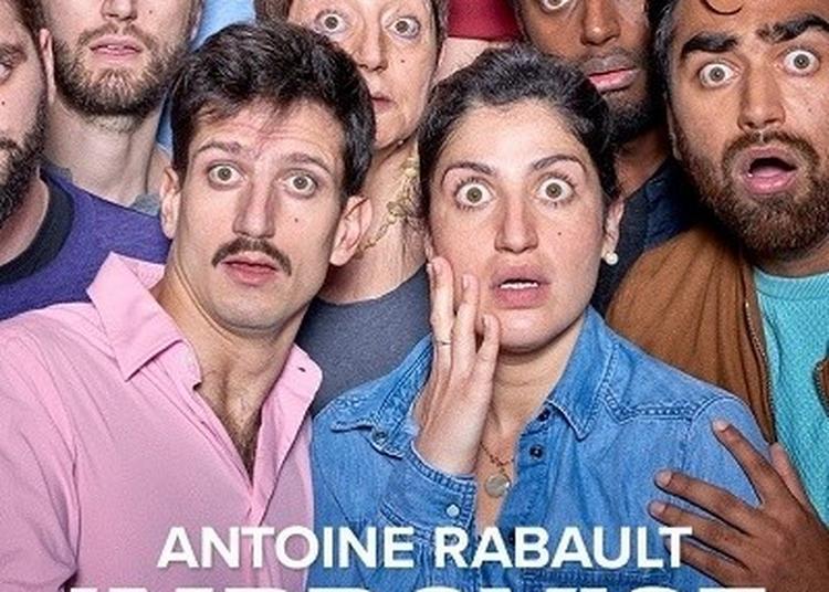 Antoine Rabault Improvise avec lui-même à Paris 11ème