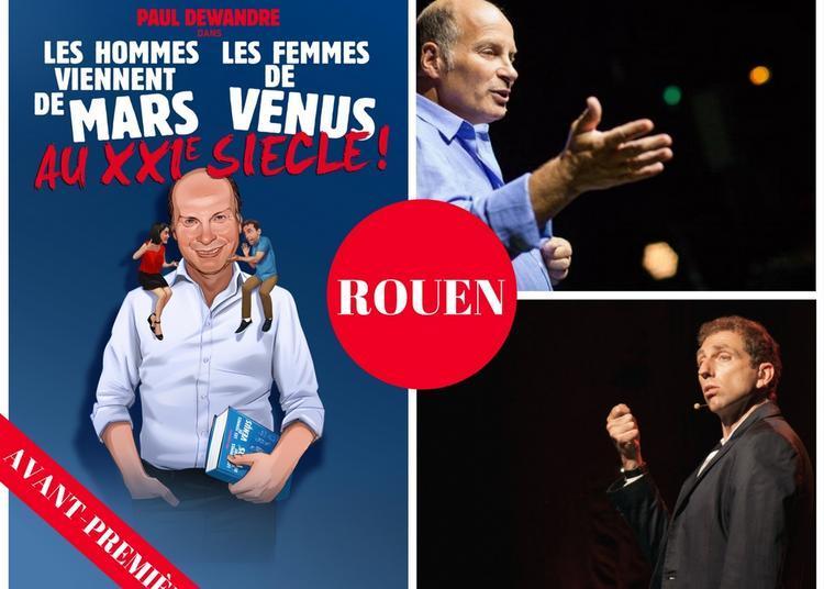 Les Hommes viennent de Mars et les Femmes de Vénus au XXIème siècle ! à Rouen