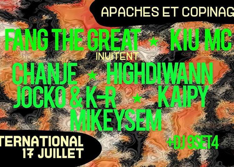 Apaches Et Copinages ! Fang The Great & Kiu MC Invitent Du Monde à Paris 11ème