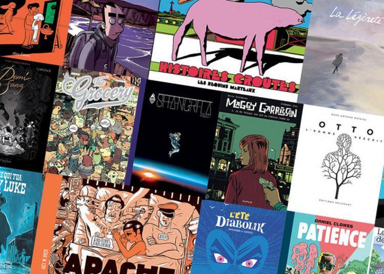 Apéri'livres sur le thème de la bande dessinée à Gueugnon