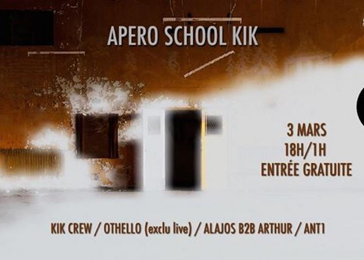 Apéro school KIK w/KIK crew / othello / Alajos b2b Arthur / ant1 à Saint Denis