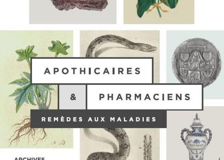 Apothicaires Et Pharmaciens. Remèdes Aux Maladies à Nantes