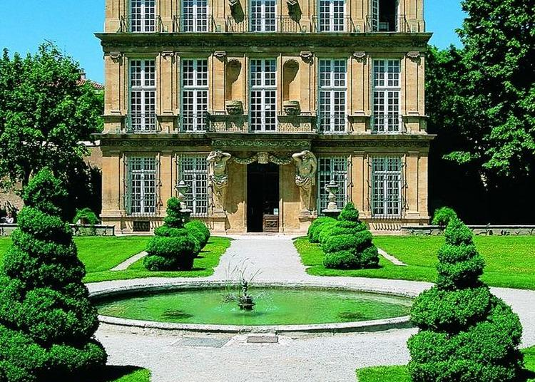 Architecture Et Jardin Au Pavillon De Vendôme à Aix en Provence