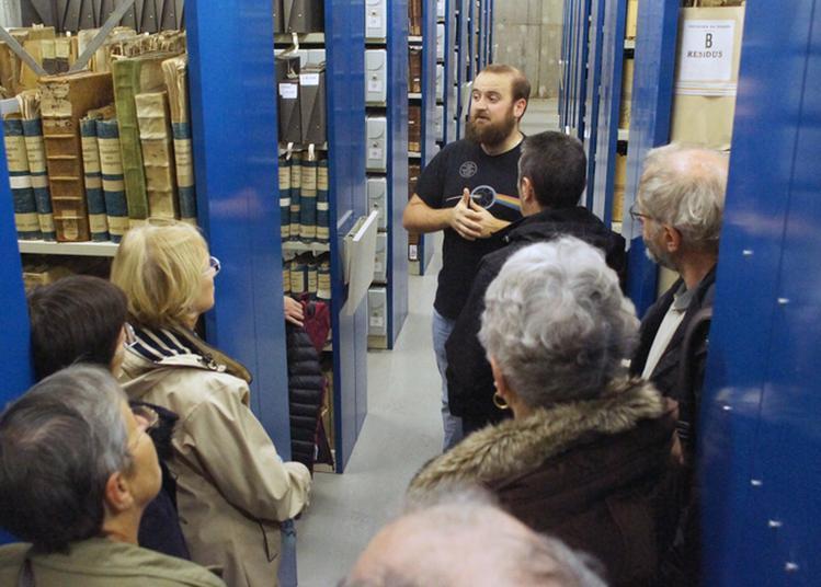 Archives Départementales Du Doubs : Visite Guidée Des Locaux De Conservation à Besancon