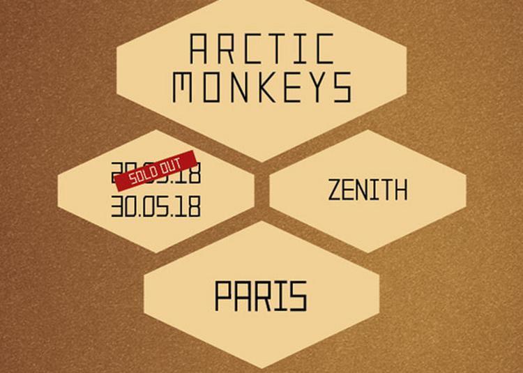 Arctic Monkeys à Paris 19ème