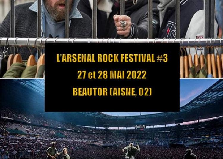 L'arsenal Rock Festival #3 - Pass 2 Jours à Beautor
