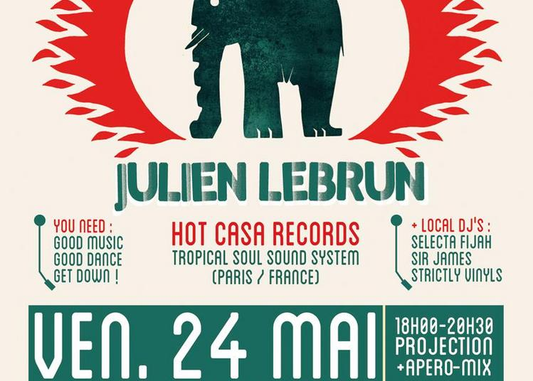 Arsenal Vinyl Club #6 Invite Dj Julien Lebrun à Tarbes