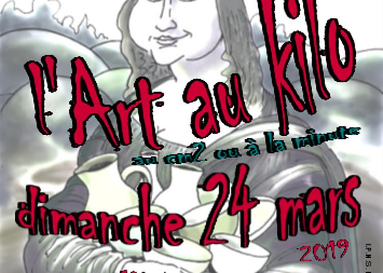 Art au kilo à Avallon