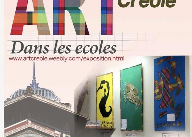 Art Creole. Exposition De Tableaux D'enfants à Fort De France
