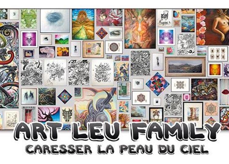 Art Leu Family : Caresser la Peau du Ciel à Nantes