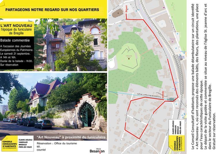 Art Nouveau Et Funiculaire à Besançon à Besancon