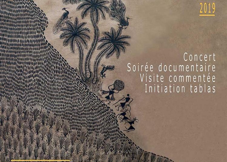 Art tribal indien : Les Warlis à Nantes