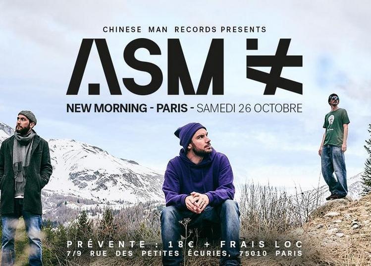 ASM Release Party à Paris 10ème