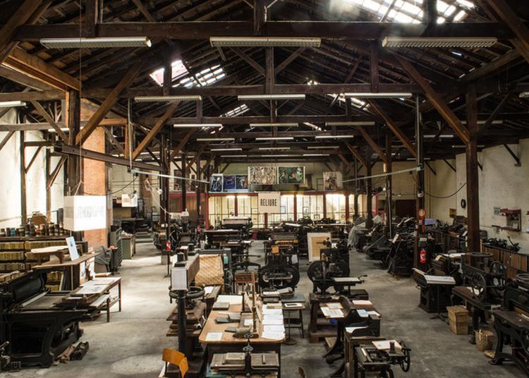 Assistez Et Participez à La Transmission Du Savoir De L'art De L'imprimerie ! à Bordeaux