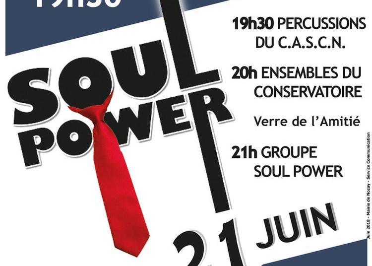 Association C.a.s.c.n. / Conservatoire Municipal De Nozay / Soul Power