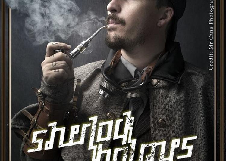 Astier Illusionniste Dans Sherlock Holmes à Marseille