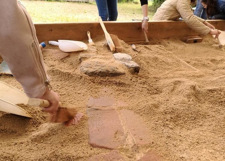 Atelier Archeologia Pour Les Enfants à Chassenon