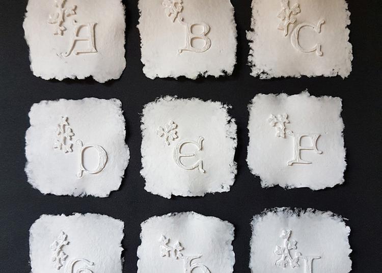 Atelier : Art Du Papier, Enluminure En Relief à Strasbourg