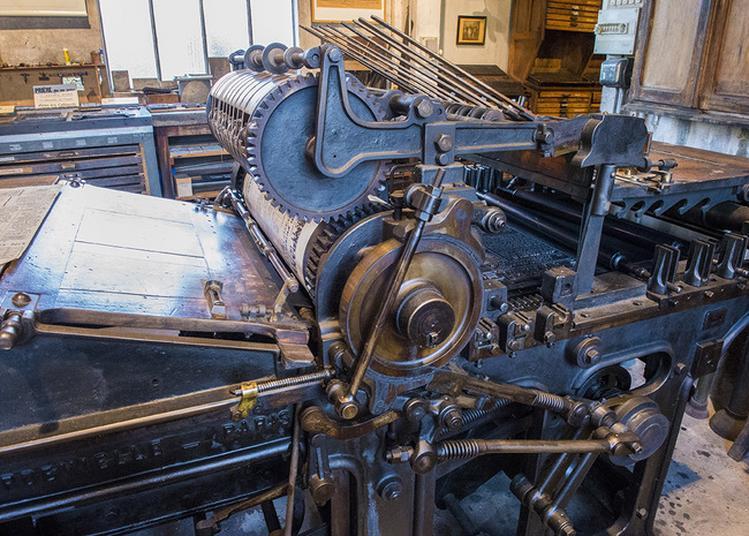 Atelier Au Musée De L'imprimerie à Louhans