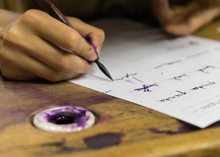 Atelier Calligraphie à Puisserguier